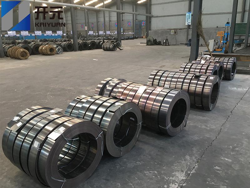 江西热处理钢带产地货源,黑皮钢带多少钱一吨