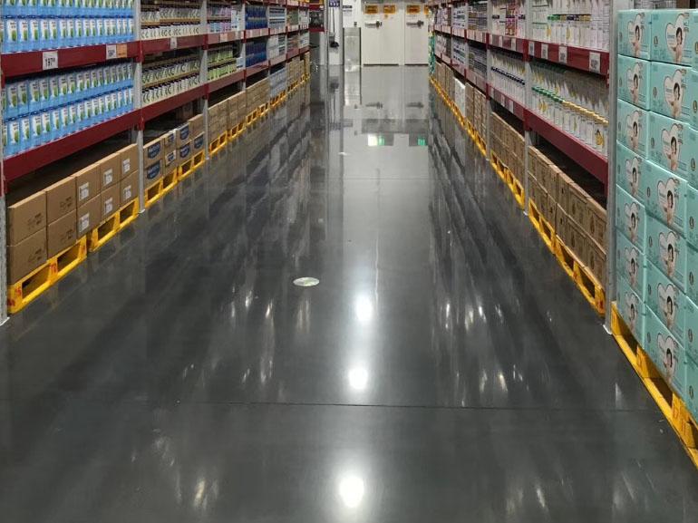 白银混凝土超平地坪施工