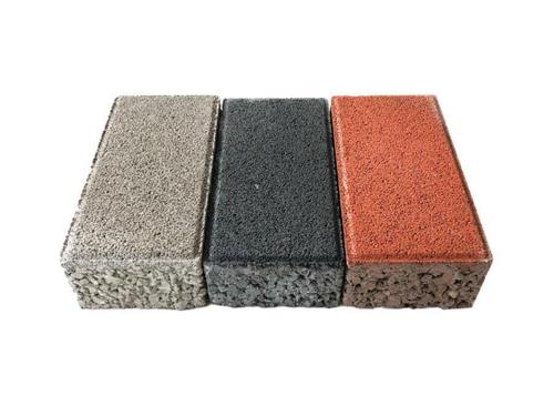 欧韵建材水泥花砖 加工定制路面渗水砖 面包砖批发