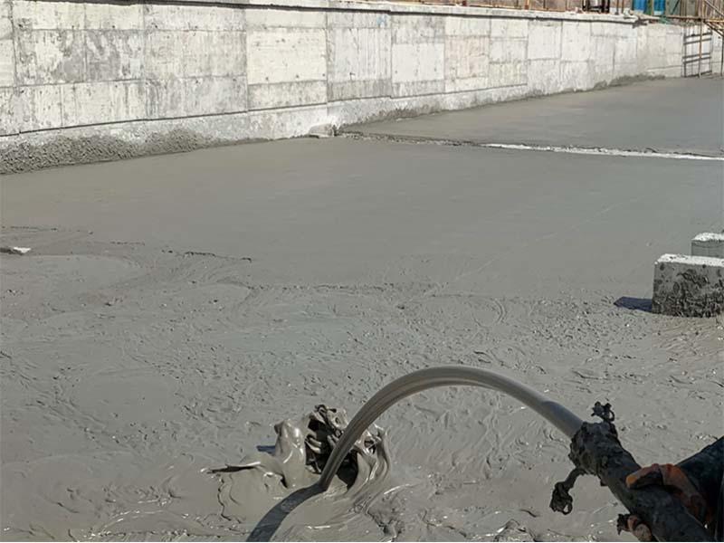 青海泡沫混凝土施工厂家