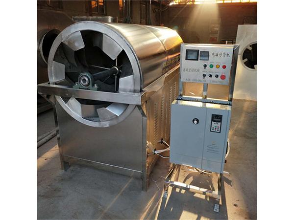 福建全自动豌豆电磁连续滚筒炒炉供应商