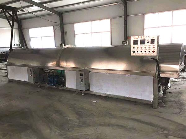 吉林電磁芝麻炒貨機流水線批發,滾筒式芝麻炒貨機流水線生產商