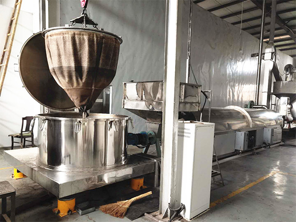 山東油料作物炒貨機流水線供應商,連續式油菜籽炒貨機流水線供應商