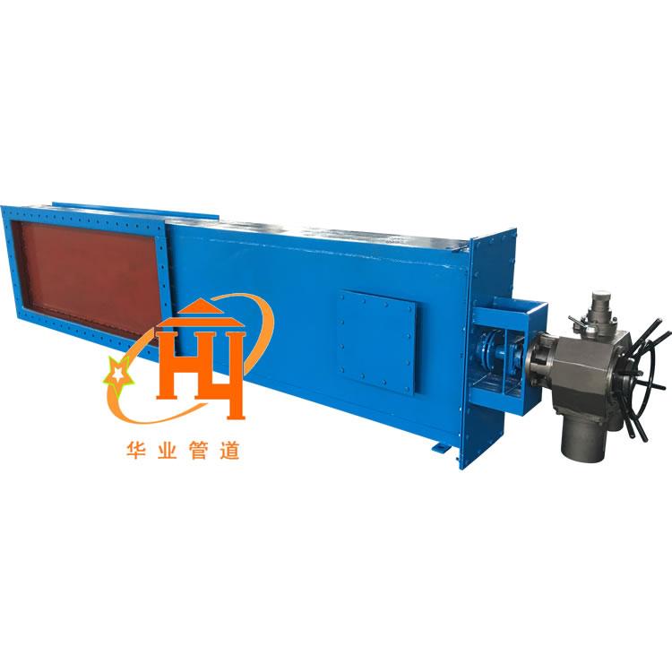 山西气动焊接式插板门定制