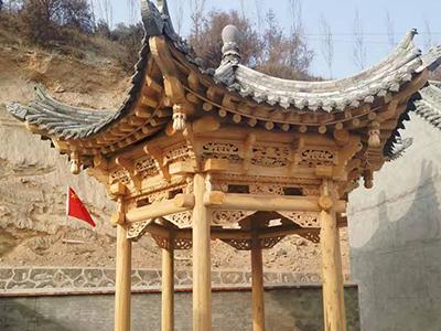 青海中式古建筑设计多少钱,古建砖雕维修施工