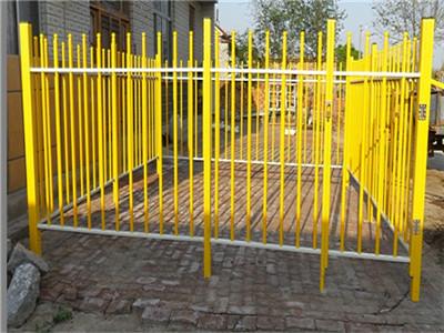 玻璃钢绝缘管式伸缩围栏电力安全施工围栏可移动护栏幼儿园学校隔
