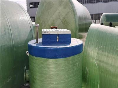 内蒙古玻璃钢一体化预制泵站尺寸