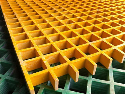 玻璃钢50mm格栅板 污水处理地沟盖板 农田改造网格板