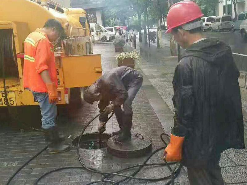郑东新区小区管道疏通工程