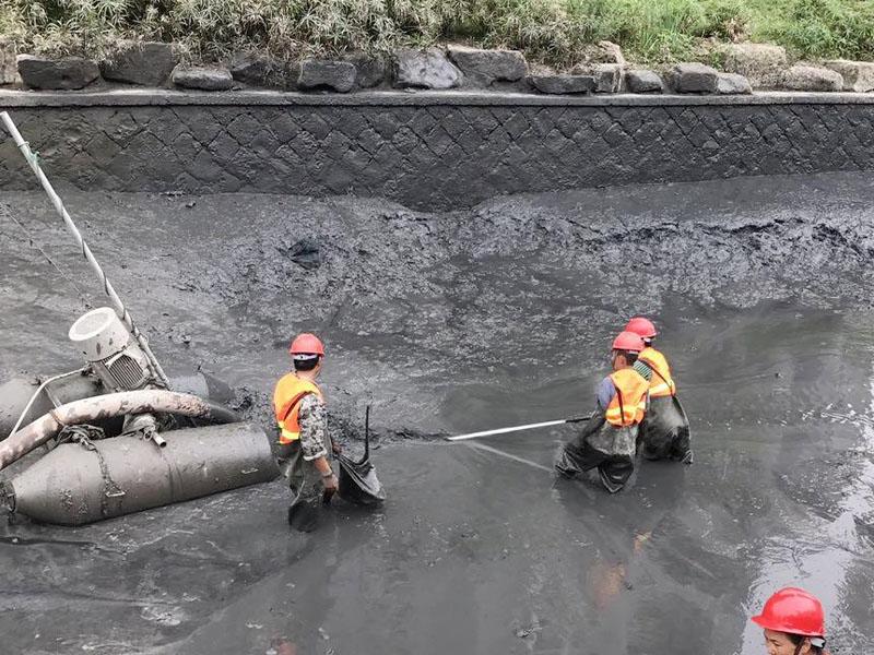 二七区池塘河道清淤报价