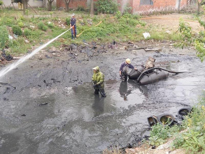 二七區河道清污哪家好,水利河道清理方案