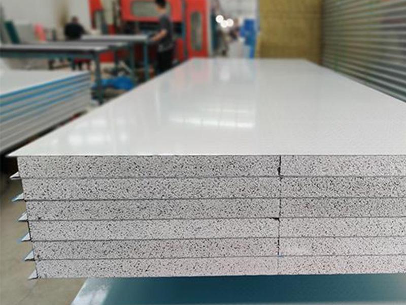 天水岩棉净化彩钢板加工