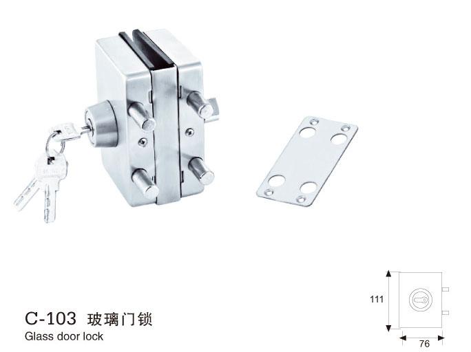 【厂家推荐】好的玻璃门锁推荐 浴室夹批量发货