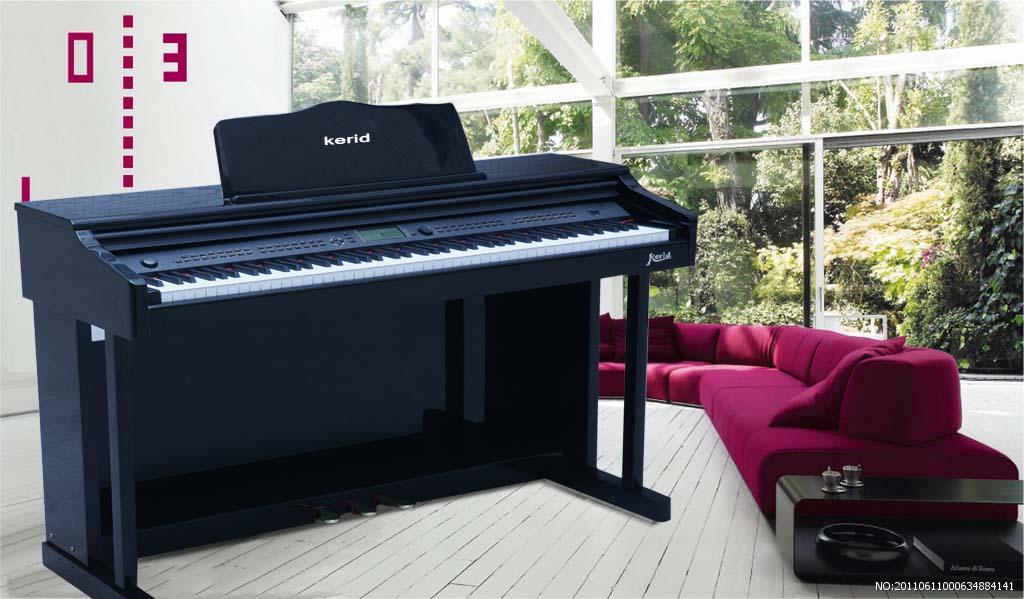电子钢琴厂家直销-广西88键电钢琴