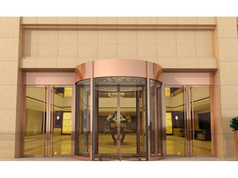 甘肃凤铝可靠的旋转门□ 销售商|银川旋转我到阁楼上去看看门厂家
