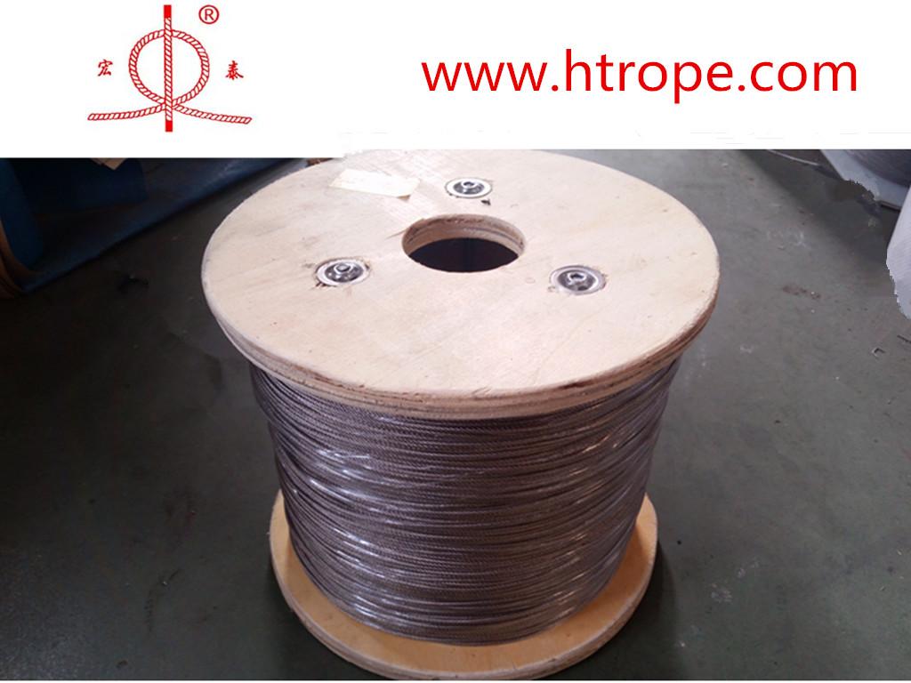 专业的不◆锈钢钢丝绳-为您松�右恍┩萍龊晏└炙可�品质好的不锈钢丝绳