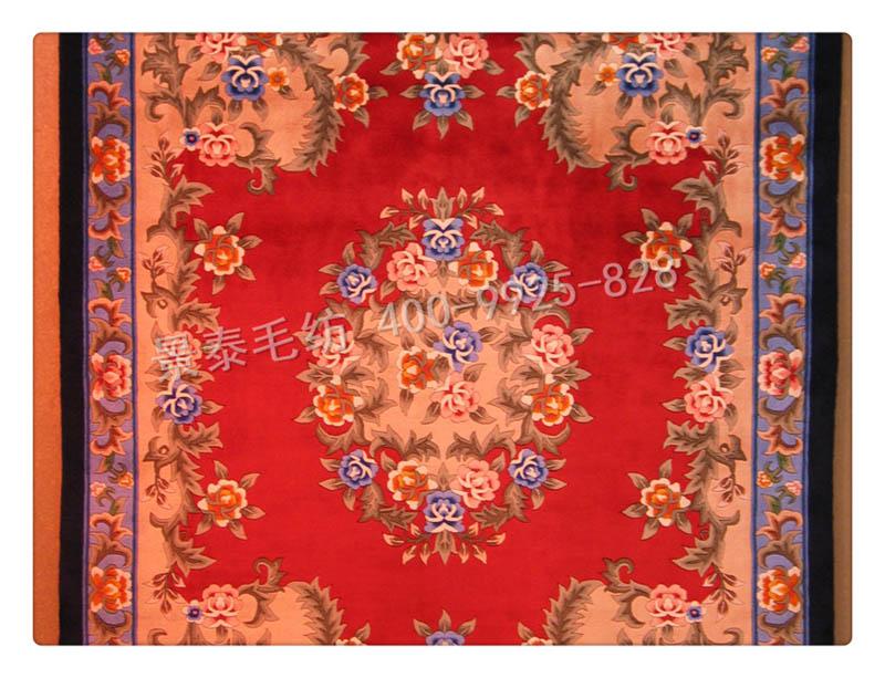 质量好的手工羊毛地毯优选甘肃景泰毛纺 兰州羊毛地毯订做