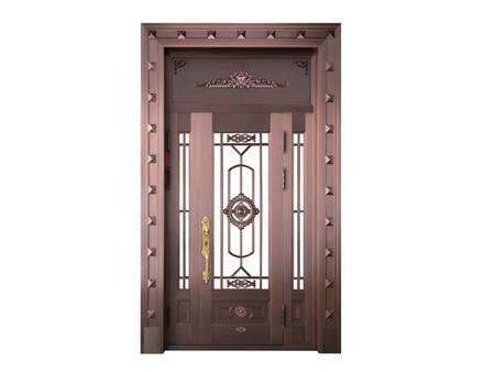 划算的铜艺玻璃门哪里有卖 北京别墅铜门