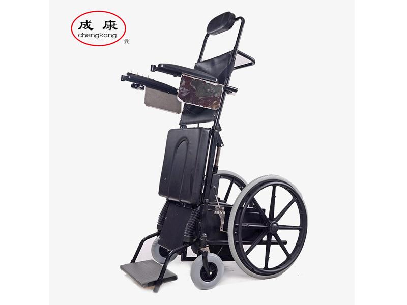 壽光電動站立輪椅廠家@成康【果然來了】電動站立輪椅價格