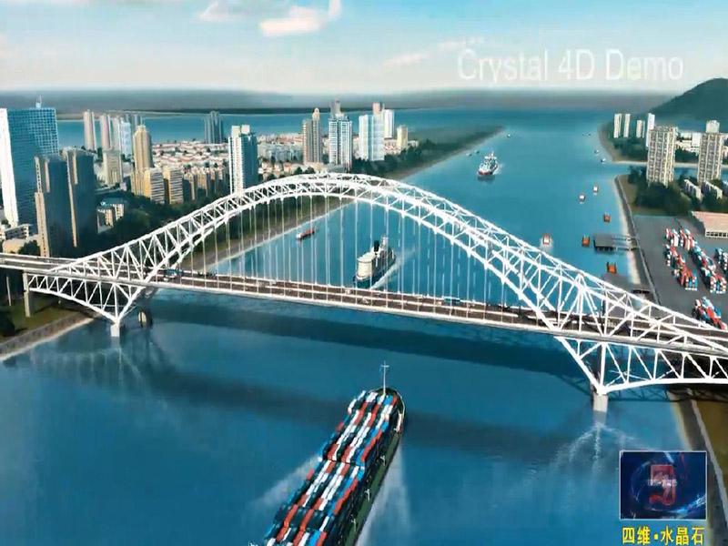 專業的路橋施工動畫選擇四維水晶石動畫公司