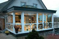 露台阳光房价格-青岛地区实惠的别墅庭院阳光房