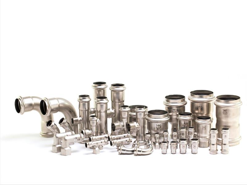 斯特兰空压机节能公司提供的空压站安装采用液压加强型双卡压不锈钢管道好不好_空压机管道安装品牌