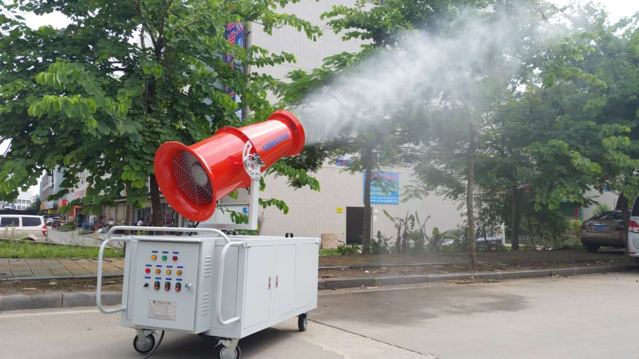 廈門噴霧降塵-霧炮噴霧機興利順專業機電設備有限公司