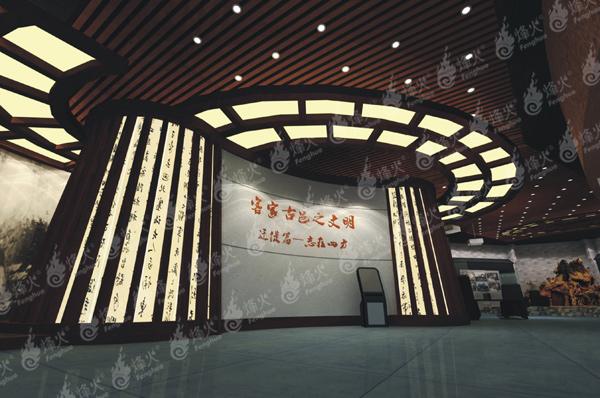 博物馆设计策划当选成都烽火 泸州博物馆