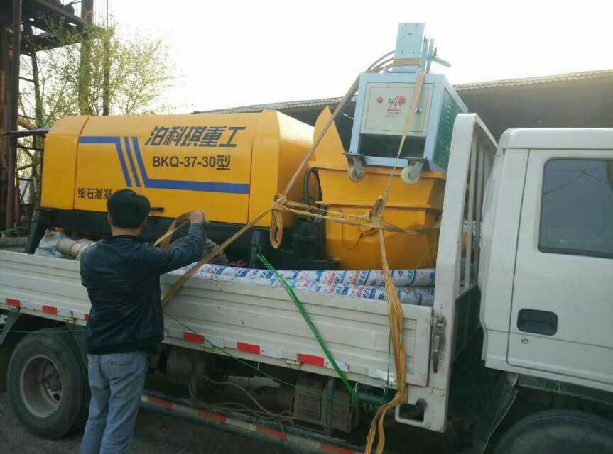 小型混凝土输送泵维修-河北具有口碑的细石混凝土输送泵供应