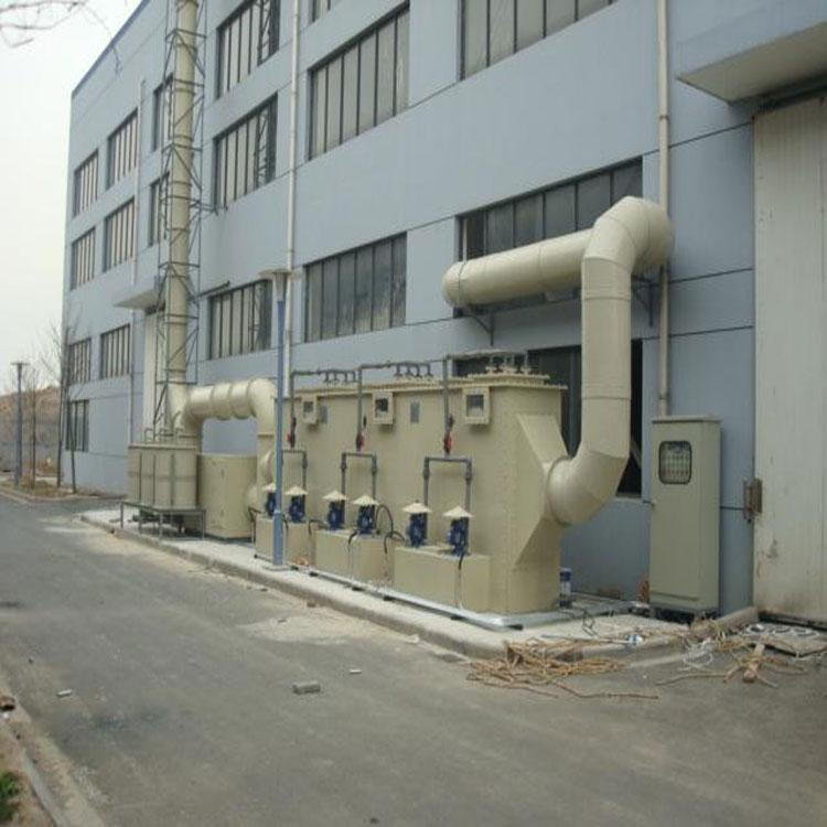 廢氣處理設備 PP噴淋塔專業供應商_廢氣處理設備噴淋塔設備