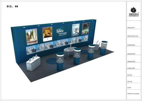 專業的上海展會特裝搭建在深圳有提供 深圳北京展會特裝展臺制作公司
