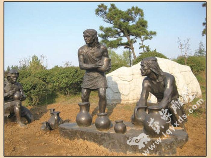 战士群雕工程 专业制作人物群雕
