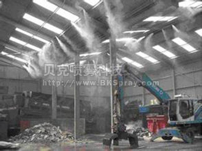 深圳垃圾站喷雾除臭系统,喷雾环保型除臭机,除臭设备工程厂家
