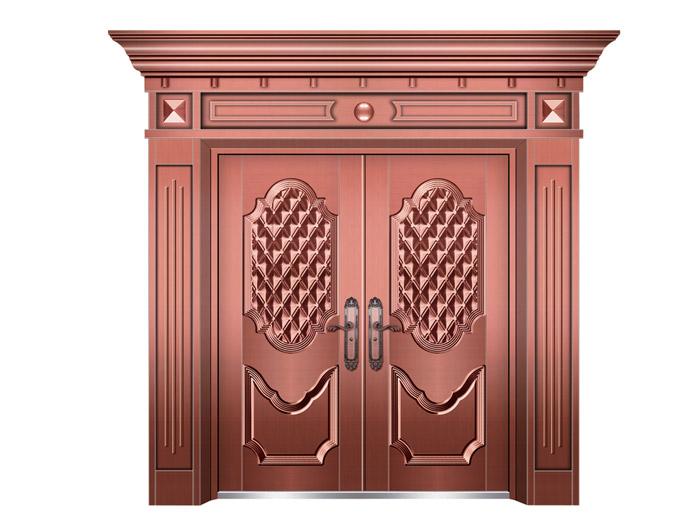 山东别墅铜门|上哪买价格合理的工艺铜门