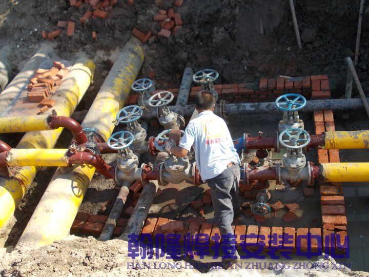 營口管道安裝|提供專業的管道工程管道焊接安裝