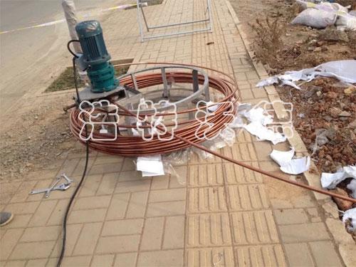 品质四维连续电镀法铜覆(包)钢接地圆线供应批发 中国铜包钢圆线