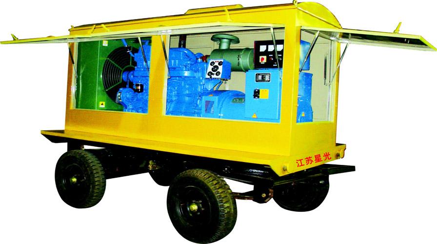莲湖里卡多品牌柴油发电机组|星光动力提供新款50KW里卡多品牌柴油发电机组