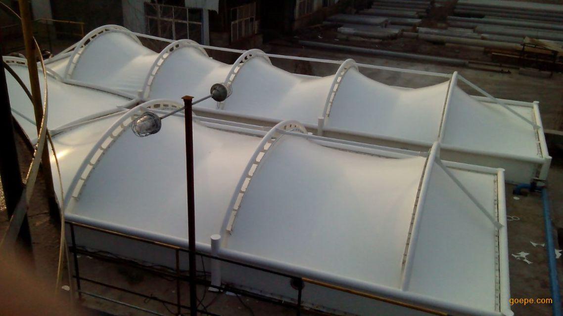 污水池加盖厂家_专业设计制造污水池加盖膜结构