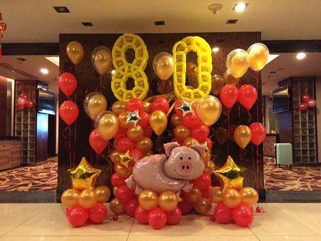 青岛生日气球_的青岛气球装饰出自青岛逗儿乐彩球