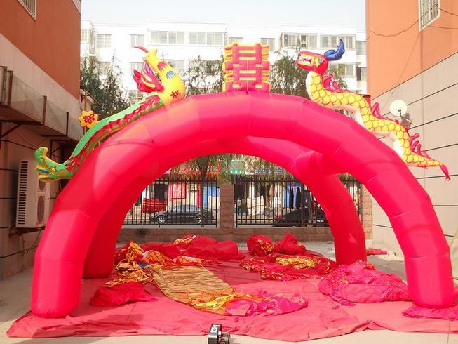 婚庆用品热销厂商-婚庆拱门-红马婚庆用品