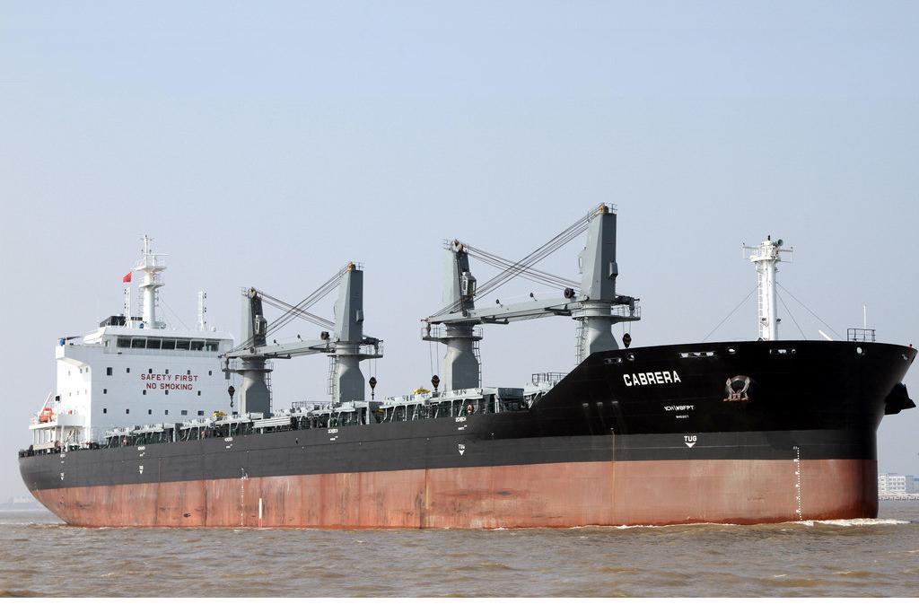 铁矿石散货船