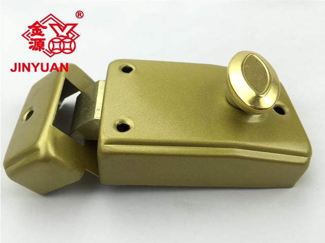 防盜門鎖生產|廣東哪里可以買到合格的558金色門鎖