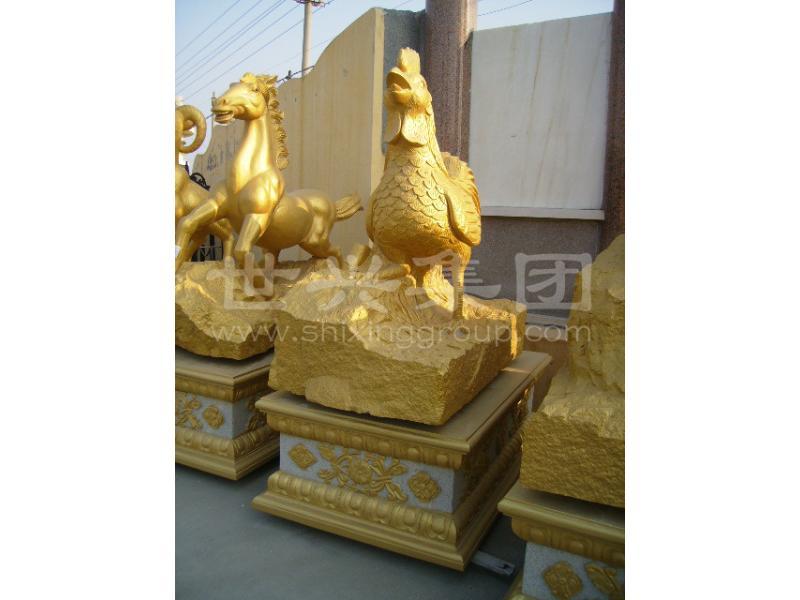动物雕刻设计-选动物雕刻找世兴石业