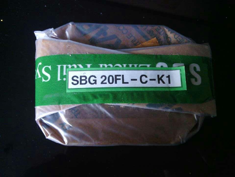 机床滑块附件SBG老型号现货SBG15SL滑块