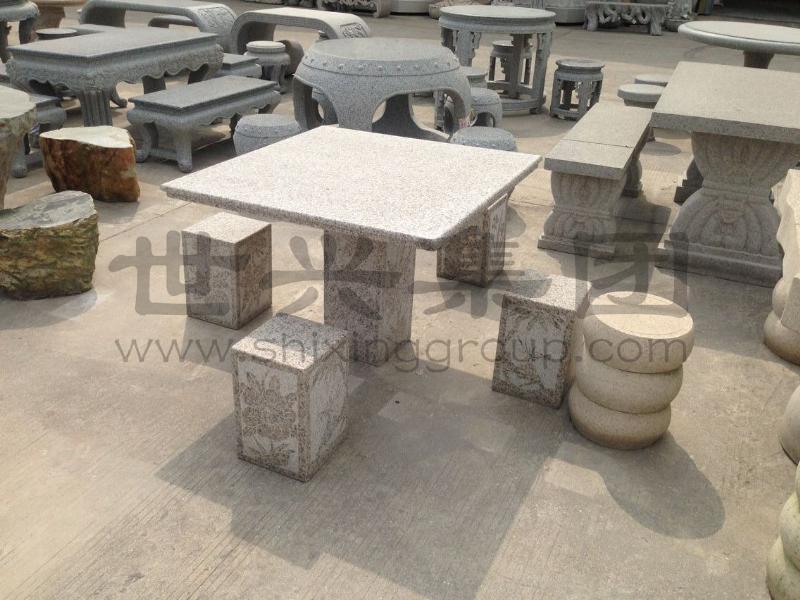 世兴石业提供的石桌椅好不好_石桌椅价格