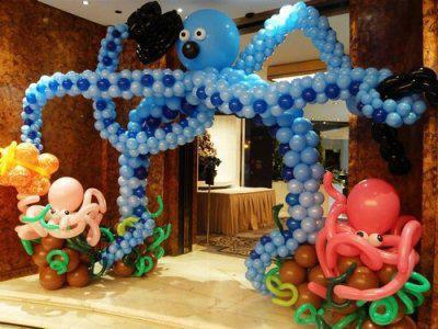 山东青岛派对气球装饰专业提供 胶南派对