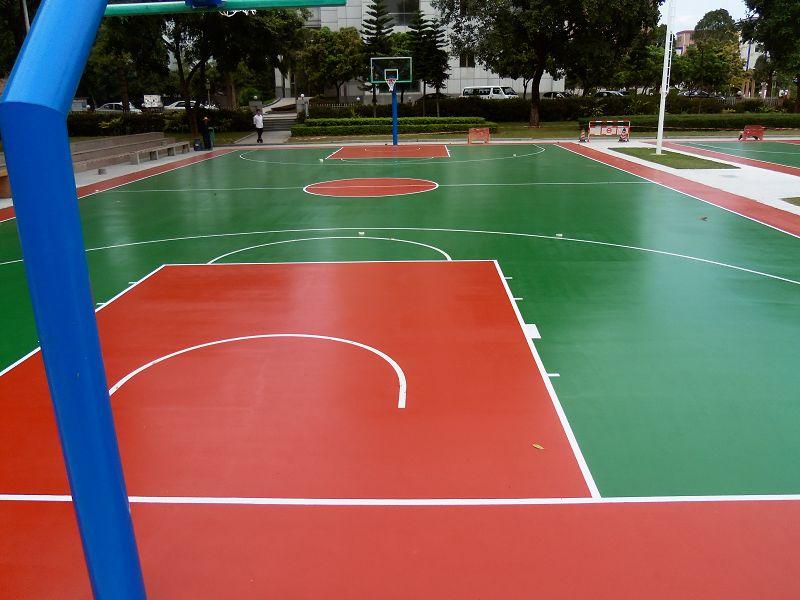 南寧硅PU運動球場-供應南寧物超所值的硅pu球場