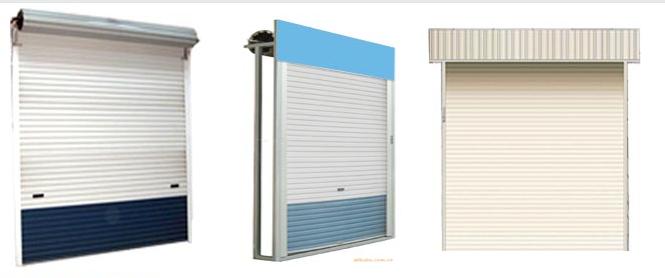 优惠的新型无声卷帘门晶宇金属门窗厂供应-新型整板无声卷帘门专