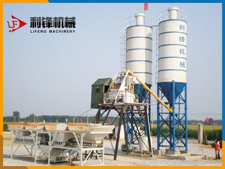 可移动式搅拌站价格-可移动式搅拌站生产厂家-利锋
