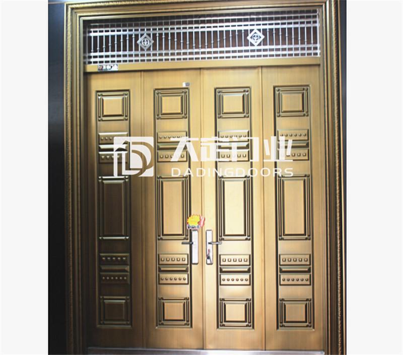 玉林钢制仿铜大门-广西地区销量好的仿铜门怎么样